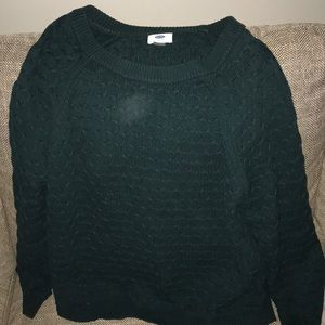 Old navy green sweater